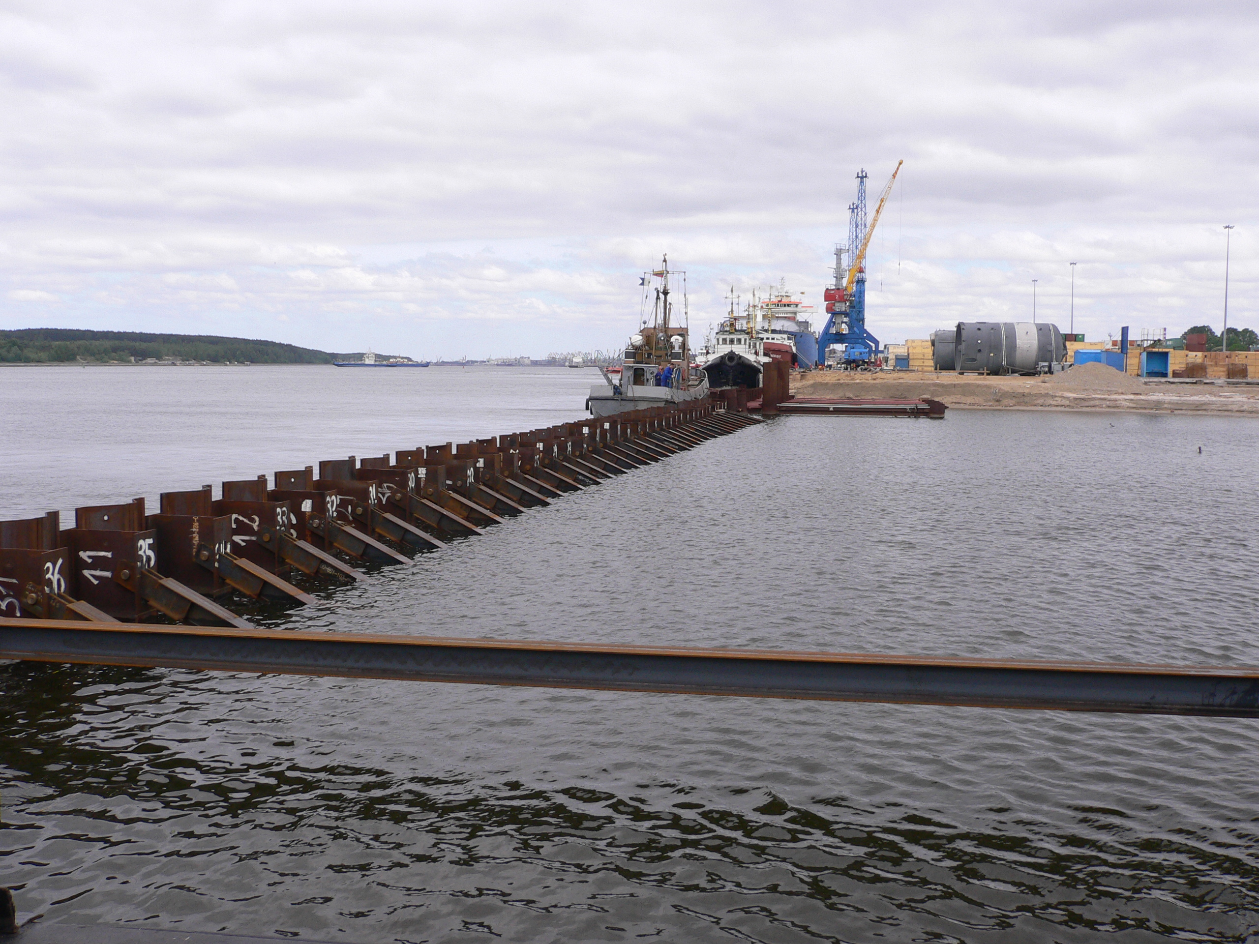 Combined Wall Steel Sheet Piling Piles Amp Machinery
